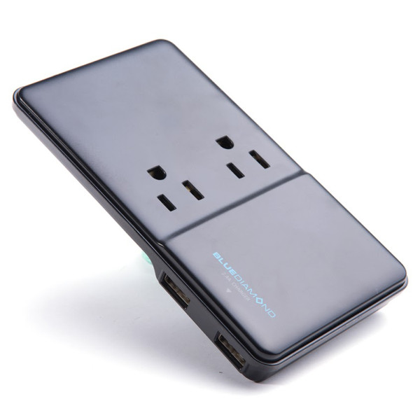 BlueDiamond Expand Slim + Charger + 2 Outlets
