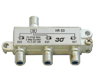 3-Way Coax Splitter