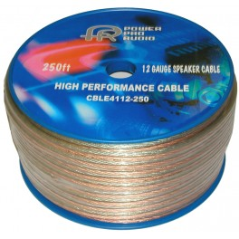 Speaker Wire 12AWG 250ft Roll