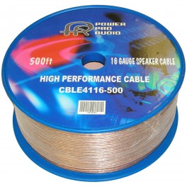 Speaker Wire 16AWG 500ft Roll