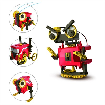 4-in-1 Motorized Robot Kit