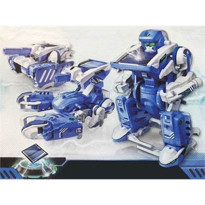 Solar Powered T3 Transforming Robot Kit