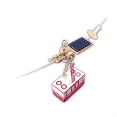 Solar Powered Cable Car Kit