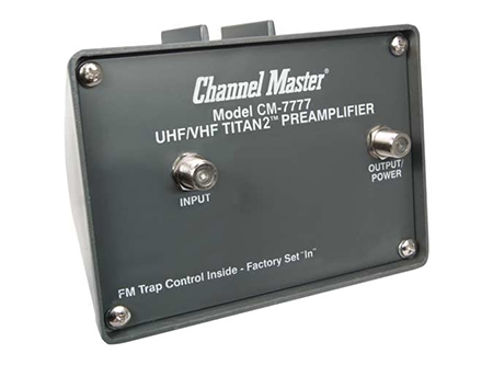 Titan 2 High Gain Preamplifier