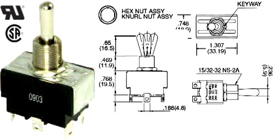 35-149-000 TOGGLE SWITCH