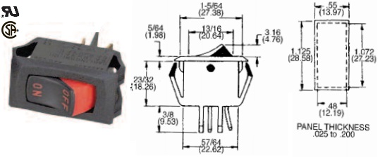 35-3030 ROCKER SWITCH
