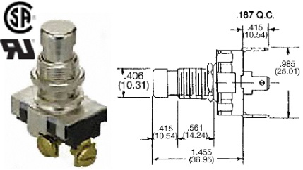 35-3429 STANDARD PUSHBUTTON