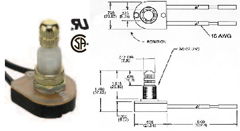 35-855 ROTARY SWITCH