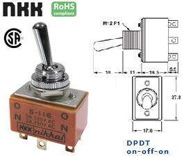 42-145-565 STANDARD TOGGLE SWITCH