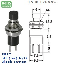 44-551-43 PUSH BUTTON SWITCH