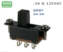 46-009-30 SLIDE SWITCH