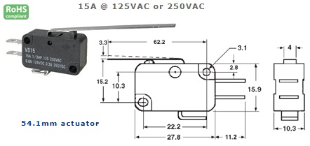 47-403-134 MICRO SWITCH