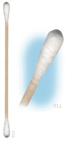 811-100 – DOUBLE HEADED COTTON SWAB