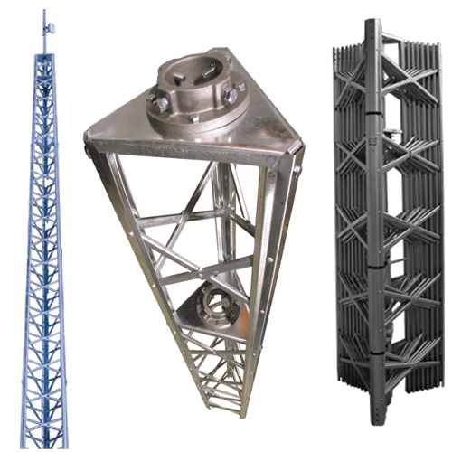 Heavy Duty Self-Supporting Tower: up to 48′