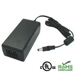 AC/DC Adapter – 18VDC / 2700mA – 2.1 x 5.5mm Plug Centre Positive Polarity