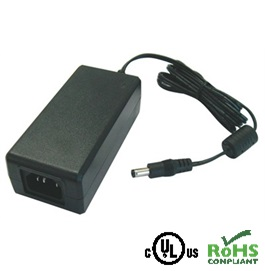 AC/DC Adapter – 12VDC / 5000mA – 2.1 x 5.5mm Plug, Centre Positive Polarity