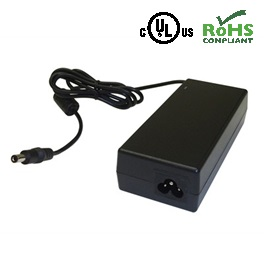 AC/DC Adapter – 24VDC / 3700mA – 2.1 x 5.5mm Plug Centre Positive Polarity