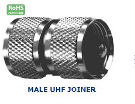 21-266-0 MALE UHF JOINER