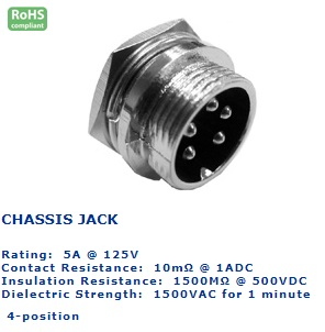 25-734‐90 CHASSIS JACK