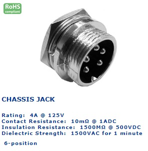 25-736‐120 CHASSIS JACK