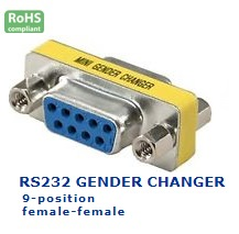 32-023-115 RS232 GENDER CHANGER