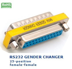 32-029-135 RS232 GENDER CHANGER