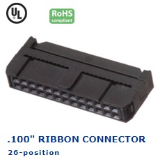 35-026‐26 RIBBON CONNECTOR .100″