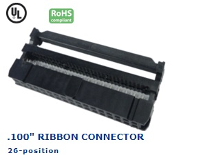 35-034‐28 RIBBON CONNECTOR .100″