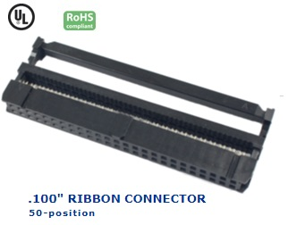 35-050‐36 RIBBON CONNECTOR .100″