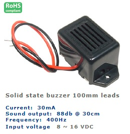 61-212-93 SOLID STATE BUZZER