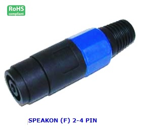 AG1037 SPEAKON (F) 2-4 PIN