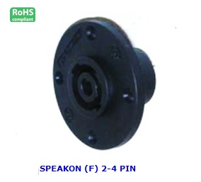 AG1038 SPEAKON (F) 2-4 PIN