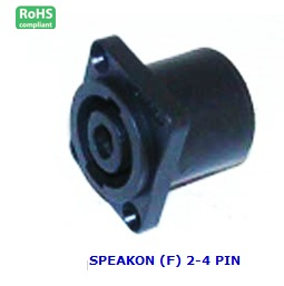 AG1039 SPEAKON (F) 2-4 PIN