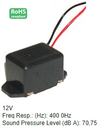NA1060 PANEL MOUNT BUZZER