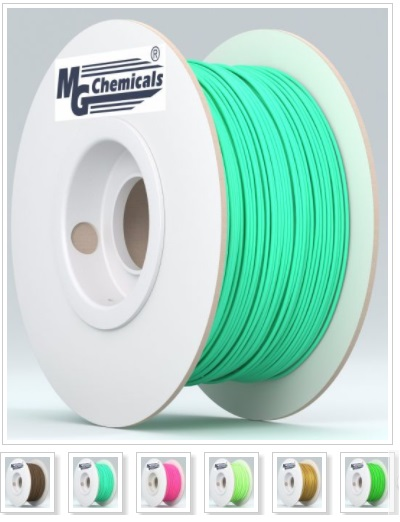 PLA18BR1 Polylactic Acid or Polylactide (PLA) 3D printer filaments